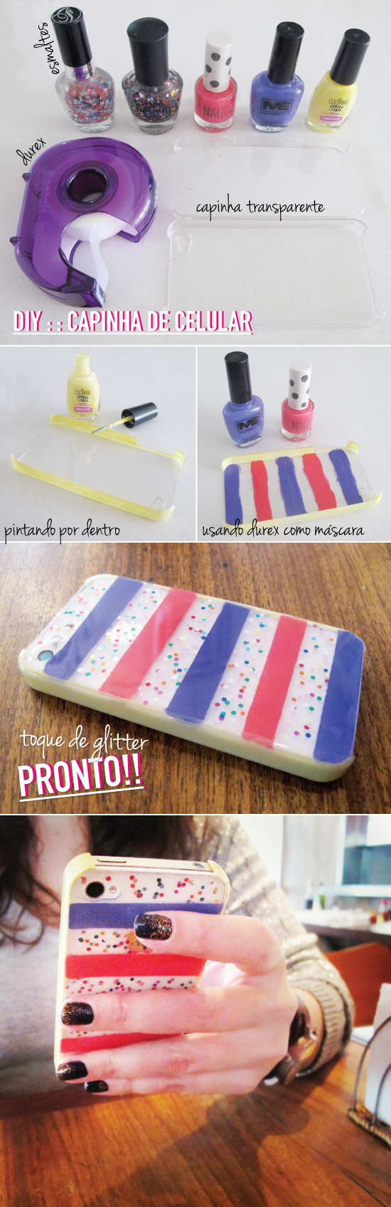 capinha-celular-iphone-esmalte-diy-tutorial-facil-pintar-transparente-cover-case-nail-polish-customizacao-customizar-ideia