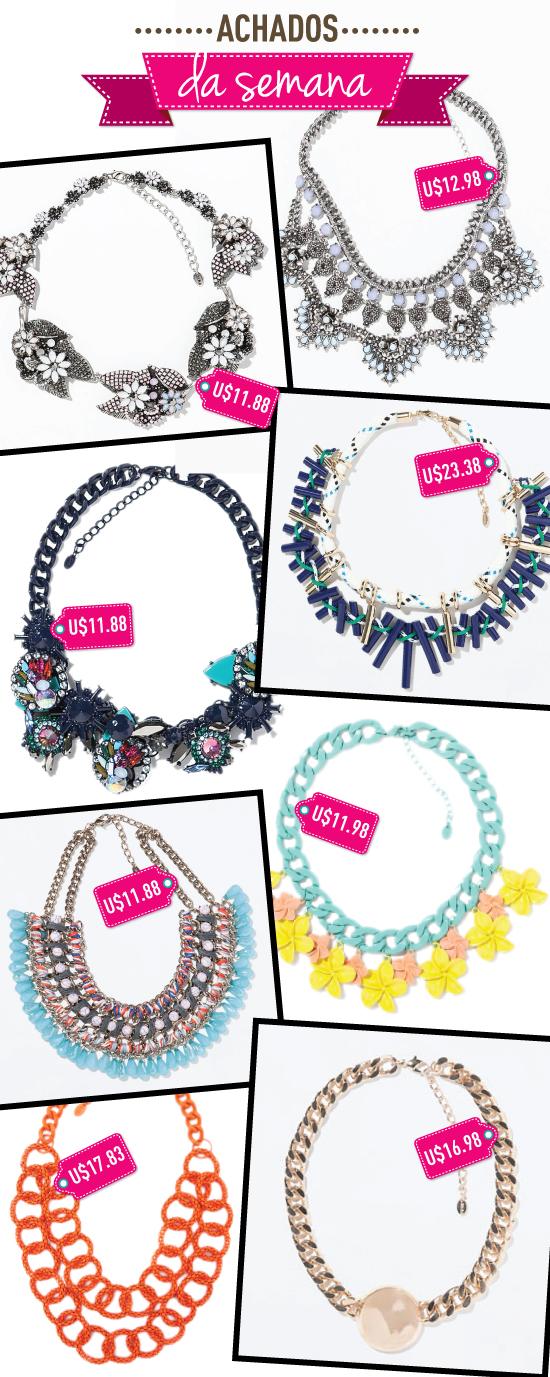 achados-da-semana-colares-igual-vendedor-zara-colecao-nova-2014-2015-necklace-ali-express-dica-compras
