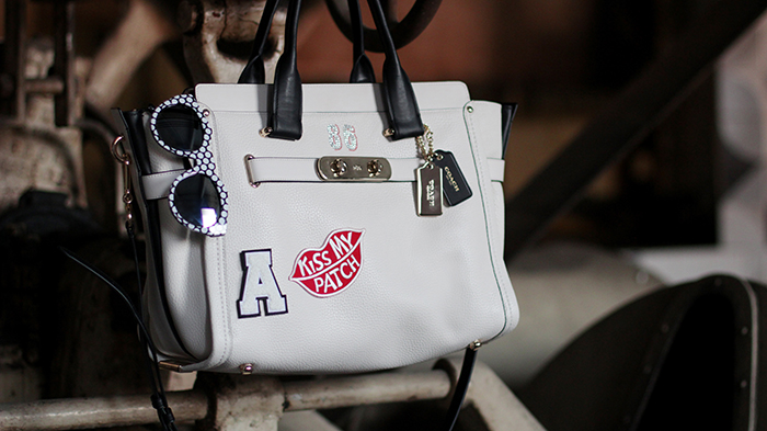 look-bolsa-bag-coach-swagger-medium-whats-your-swagger-campaign-brasil-blog-purse-patches-customization-customizacao