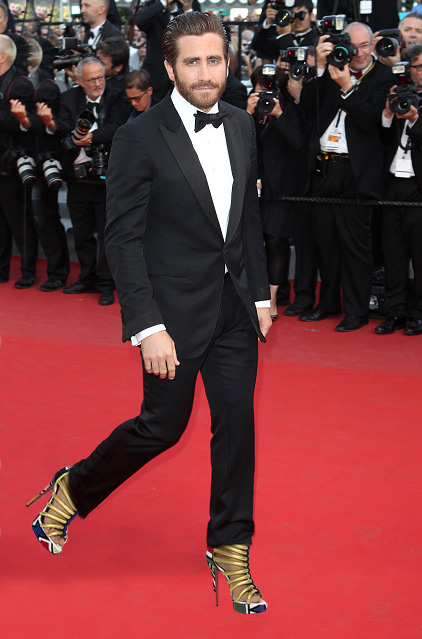 """CANNES, FRANCE - MAY 17:  Jake Gyllenhaal attends the """"Carol"""" premiere during the 68th annual Cannes Film Festival on May 17, 2015 in Cannes, France.  (Photo by Antonio de Moraes Barros Filho/FilmMagic,)"""