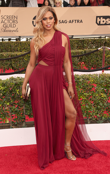 LOS ANGELES, CA - JANUARY 30: Actress Laverne Cox attends the 22nd Annual Screen Actors Guild Awards at The Shrine Auditorium on January 30, 2016 in Los Angeles, California. (Photo by Todd Williamson/Getty Images)