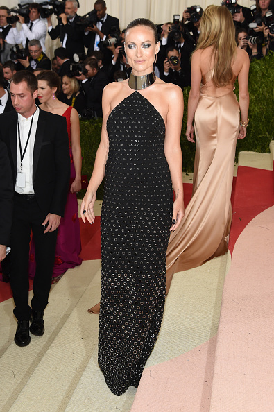 """NEW YORK, NY - MAY 02:  Olivia Wilde attends the """"Manus x Machina: Fashion In An Age Of Technology"""" Costume Institute Gala at Metropolitan Museum of Art on May 2, 2016 in New York City.  (Photo by Jamie McCarthy/FilmMagic)"""